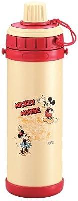 パール金属 ミッキーマウス ダイレクトボトル800(レッド) M-5205