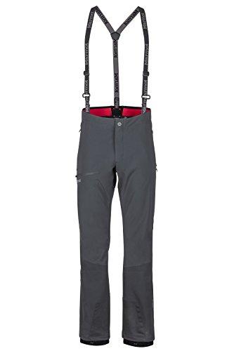 Marmot Pro Tour Pant Pantalones Blandos De Trekking, Pantalones para Exteriores, Resistentes Al Agua, Transpirables, Hombre, Black, 28
