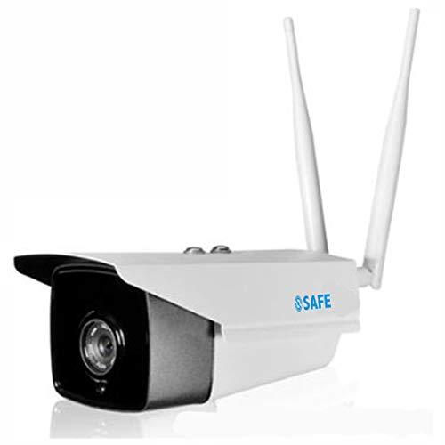 FELICILII Cámara WiFi inalámbrica Monitoreo Inteligente Teléfono móvil Monitor de computadora Cámara de Seguridad Cámara de Seguridad WiFi Seguridad del hogar Canario