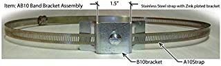 AB10 Band Bracket Assembly (Sold in Pairs)