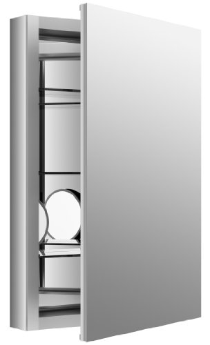 KOHLER K-99003-NA Verdera 20-Inch By 30-Inch Slow-Close Medicine Cabinet with Magnifying Mirror