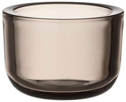 Iittala Valkea Teelichthalter, Glas, leinen, 60mm