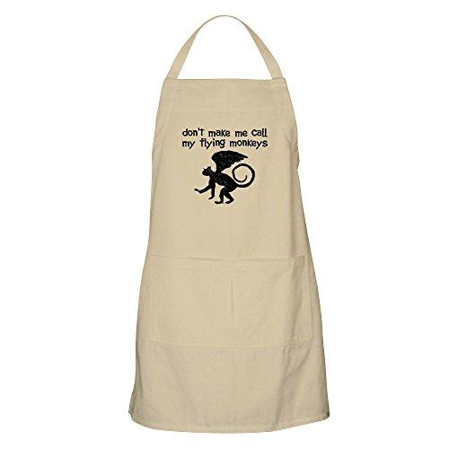 CafePress–Don 't Make Me Call My Flying Monkeys–Küche Schürze mit Taschen, Grillen Schürze, Backen Schürze khaki