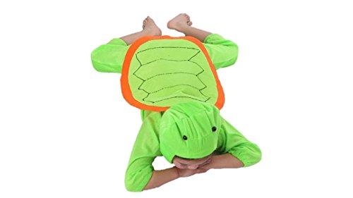Matissa Kinder Tierkostüme Jungen Mädchen Unisex Kostüm Outfit Cosplay Kinder Strampelanzug (Schildkröte, XL (Für Kinder von 120 bis 140 cm))