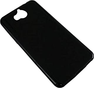 Huawei Y5 2017 TPU Silicone Soft Thin Back Case cover For Huawei Y5 2017 cover Black
