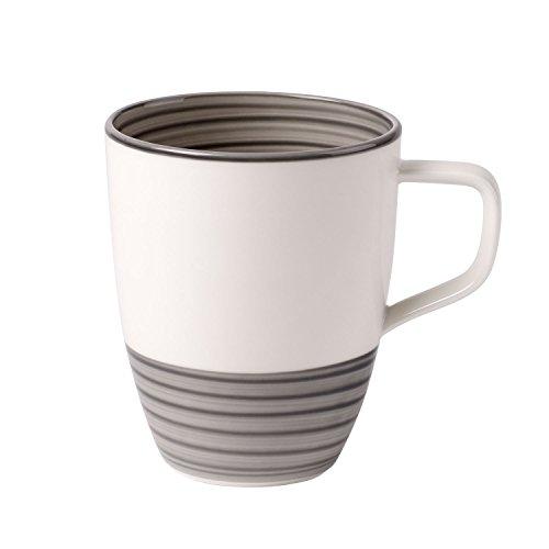 Villeroy & Boch 10-4231-9651 Manufacture gris Kaffeebecher, Premium Porzellan