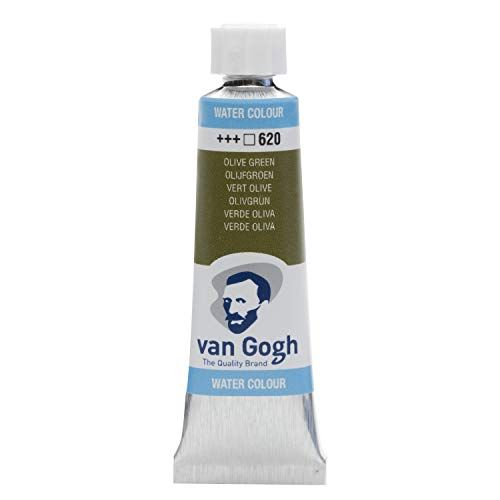 Van Gogh Watercolor Paint, 10ml Tube, Olive Green 620