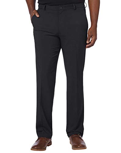 Greg Norman Mens Ultimate Travel Pants (34x30, Black)