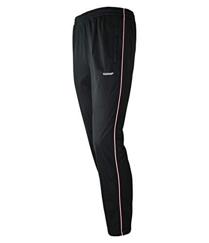 Soltice Jogginghose aus Mikrofaser, Bequeme Freizeithose, leichte Sporthose, schnelltrocknend (M bis 3XL) (XL, [A] Schwarz)