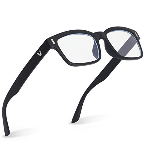 mujina PCメガネ JIS検査済み ブルーライトカット 70% UV420 紫外線カット透明レンズ 眼精疲労 視力保護 パソコン用 眼鏡 ケース クロス セット 男女兼用 (ブラック)