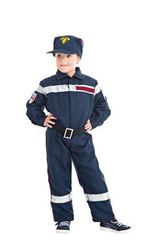Chaks C4109140, Déguisement Pompier 140cm, 10-12 ans