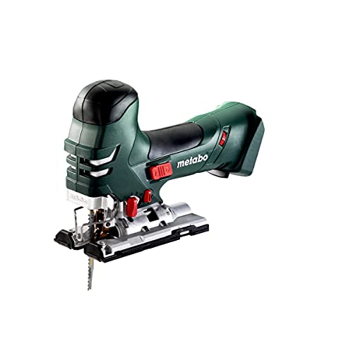 Metabo- 18V Variable Speed Jig Saw w/Barrel Grip Bare (601405890 18 LTX 140 Bare), Woodworking