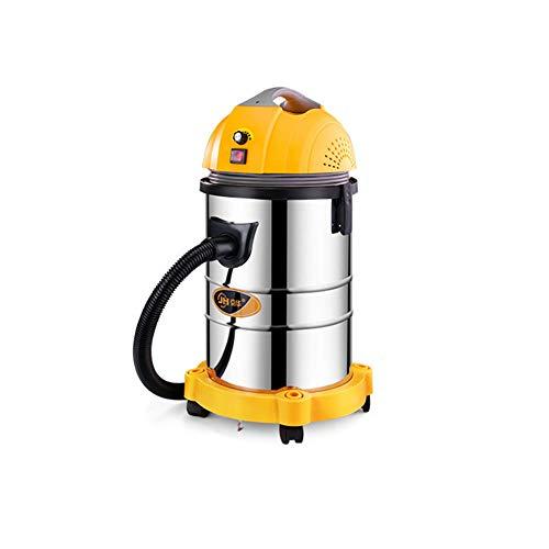 SH-JTL Aspiradora de Cilindro Aspiradora de 1400 W con Motor de Alta eficiencia 21Hpa (Sistema de filtración de 4 etapas) Limpieza por Encima del Piso para alfombras de Pelo de Mascotas,Orange