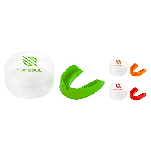 Sanabul Single Boil and Bite BJJ MMA Boxing Mouth Guard