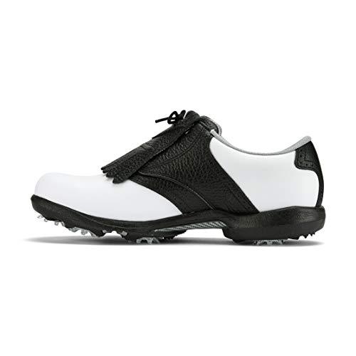 Footjoy Herren DryJoys Golfschuhe, Weiß (Blanco/Negro 99065), 41 EU
