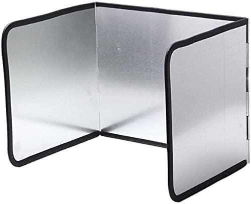 Aluminum Foil Splash Board Kitchen Anti Splatter Shield Guard Stove Cooking Frying Protector Kitchen Oil Baffle, Anti Splatter Shield Guard Splash Guard Aluminum Non Aluminum Foil Oil Proof Baff