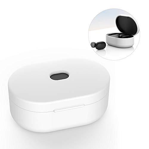 VEVICE - Funda de Silicona para Xiaomi Redmi AirDots con Funda de Carga, protección contra el Polvo, antiarañazos, inalámbrica, para audífonos Bluetooth, versión Juvenil, Accesorios para Auriculares