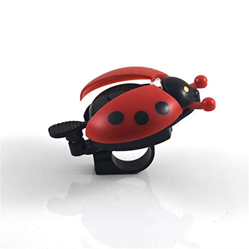 8PCS Kids Bike Bell Bike Bell Bug - Lovely Kid Beetle Ladybug Ring Bicicleta Bell para ciclismo Bike Ride Horn Alarm Trompeta de bicicleta al por mayor - Bicicleta Bell Funny