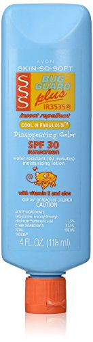 Avon SSS SPF 30 Bug Guard Cool N Fabulous 4 ounce Lotion
