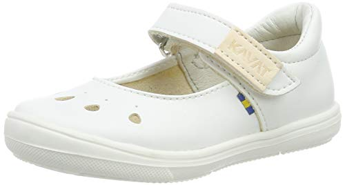 Kavat Mädchen Ammenäs Geschlossene Sandalen, Weiß (White 988), 25 EU