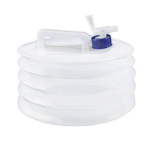 Contenedor de agua cuadrado de PC con válvula, ceremonia de té a bordo, tanque de agua mineral (tamaño : 15L)