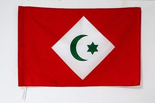 AZ FLAG Flagge RIF-Republik 150x90cm - RIF IN MAROKKO Fahne 90 x 150 cm Scheide für Mast - flaggen Top Qualität