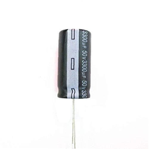 XKJFZ Elektrolytkondensator Kit Aluminium 50V 3300uF Radial Leiter-Elektrolytkondensatoren DIY Elektronik-Reparatur-Werkzeuge Hardware-Werkzeug 5pcs Industriegeräte