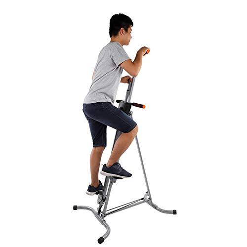 SFSGH Máquina de Ejercicios de Escalador Vertical Plegable para Trabajo Pesado Escalada Vertical en Interiores para Entrenamiento de Entrenamiento Cardiovascular de Todo el Cuerpo con al