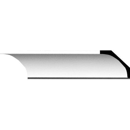Ekena Millwork MLD02X02X03TR 2 3/8-Inch H x 2 5/8-Inch P x 3 5/8-Inch F x 94 1/2-Inch L Traditional Smooth Crown Molding by Ekena Millwork
