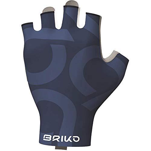 Briko Ultralight Glove Guanti Ciclismo, Unisex Adulto, Azzurro, S