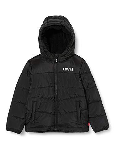 Levi's Kids Lvb Sherpa Hood Lining Puffer Anorak Jungen Black 12 Jahre