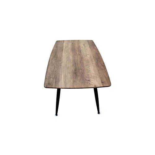 ZONS ROSA salontafel van hout, zwart,