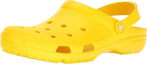 Crocs Coast Clog Lemon Men's 6, Women's 8 Medium