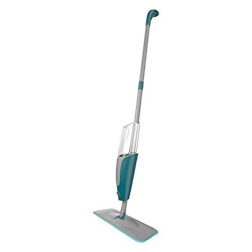Mop Spray de microfibra para limpeza de pisos com Dispenser de 400 ml, Borrifa Limpa e Seca, MOP7800, Flash Limp