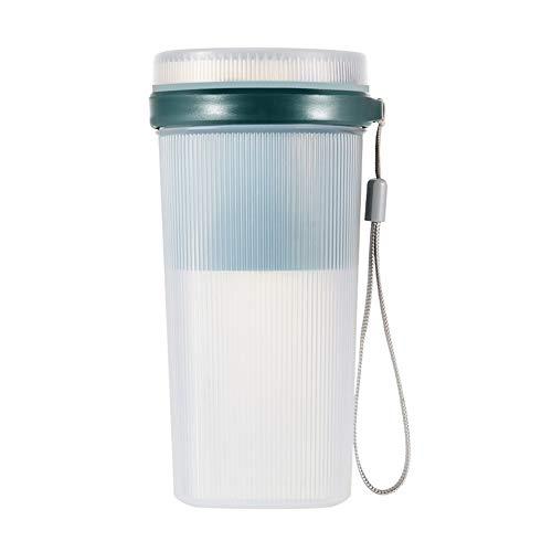 Mini exprimidor eléctrico portátil de 300 ml para hacer smoothie Maker botella pequeño zumo nuevo licuadora