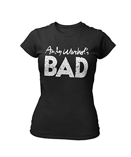 Andy Warhol's Bad Distressed T-shirt for Women, S to XXL