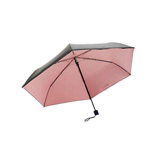XiuHUa Opvouwbare Parasol UV Bescherming Zonnekap Open Sterke Regen Paraplu's Sneldrogende Winddichte Compacte Reisparaplu Met Teflon Coating - Auto Open/Knoop paraplu standaard