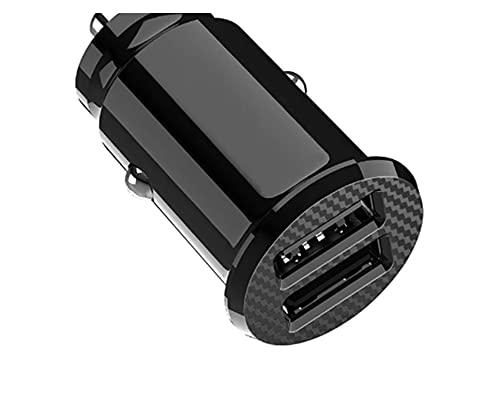 XINXIN LakerBig Dual USB Cargador de automóviles 5A Carga RÁPIDA 2 Port 12-24V Socket de Cigarrillo Mini Adaptador de Carga automática USB Cargador de teléfono móvil