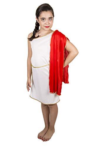 Costumizate! Disfraz de Griega Tallas Diferentes para nios Fiestas de Disfraces o Carnaval