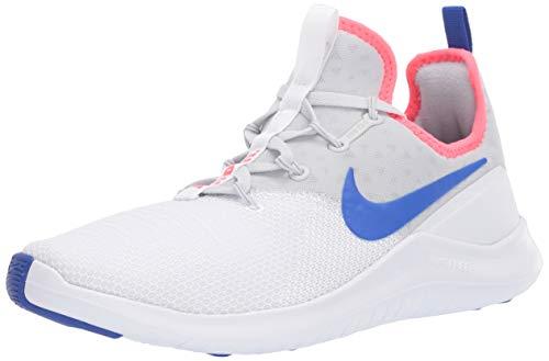Nike Women's Free TR 8 Training Shoes (Pure Platinum/Racer Blue-White, 6.5)