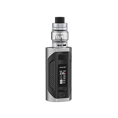 NICOTINE FREE, LIQUID FREE, S. m OK RIGEL Kit Box Mod 230W sigaretta elettronica con 6.5ml TFV9 serbatoio vaporizzatore bobina a rete Alimentato da due 18650 batterie...