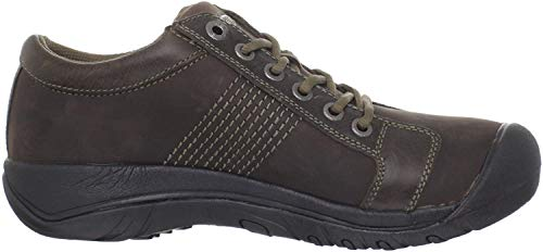 KEEN Austin Men Hiking Shoe, Marron, 47