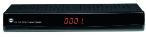 WISI OR152 DVB-C Receiver (HDMI, PVR-Ready, Conax-Kartenleser, USB 2.0) schwarz