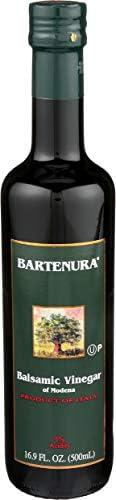 Bartenura Balsamic Vinegar of Modena Italy 16 9 oz Glass Bottle 6 Acidity Certified Kosher product image