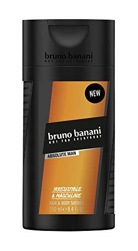 Bruno Banani ABSOLUTE MAN Shower Gel, 4er Pack(4 x 250 ml)