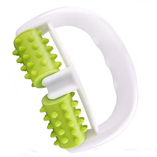 FQD Life Massageroller für Muskelkater und entfernt Cellulite, Körper-Roller für Schultern, Arme, Gesäß, Rücken, Bauch, Beine und Waden (Grün)