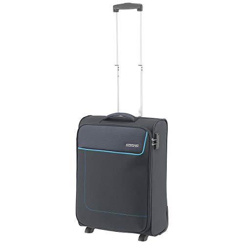American Tourister Funshine Upright Bagaglio a Mano 55 Cm, 39 L, Grigio (Sparkling Graphite)