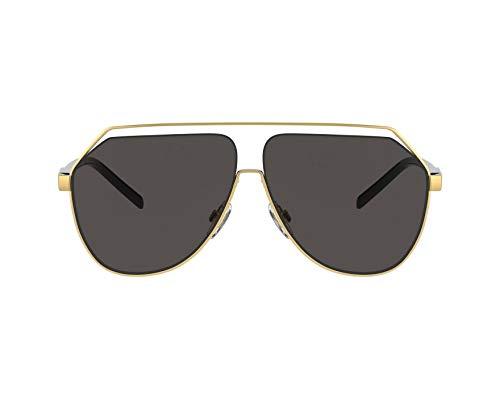 Dolce & Gabbana Occhiali da Sole GROS GRAIN DG 2266 Gold/Grey 63/9/145 uomo