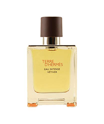 Terre D'hermes Eau Intense Vetiver by Hermes Eau De Parfum Spray 3.3 oz / 100 ml (Men)