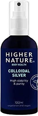 Higher Nature Colloidal Silver Spray - 100ml
